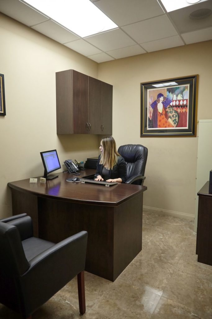 cosmetic surgery business office